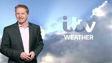 Simon has the latest ITV Meridian forecast