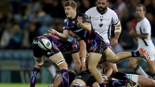 Exeter Chiefs player follows in father's foot steps