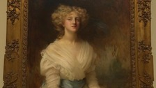 Portrait of Ivy Close on display at the Ferens Art Gallery in Hull