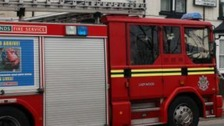 Woman 'unaccounted for' after house fire