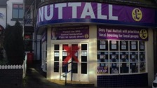 Paul Nuttall's office in Stoke-On-Trent.