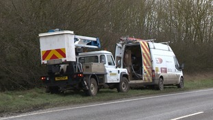UK Power Networks says it has done four weeks' work in one day.