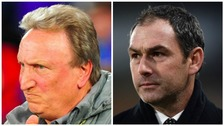 Neil Warnock and Paul Clement