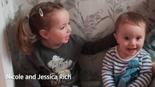 Nicole and Jessica Rich both suffer from Battens Disease a rare neurodegenerative disease with no known cure