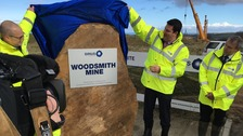 Naming ceremony for North Yorkshire potash mine
