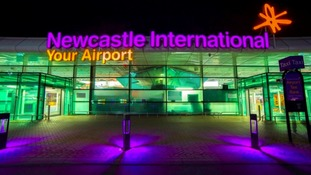 Newcastle International Airport.