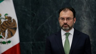 Luis Videgaray says Mexico could respond in kind to a tax on his country