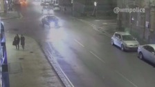 CCTV shows moment teen mowed down by hit-and-run driver in front of her mum