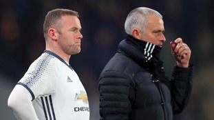 Rooney could start in EFL Cup final - Mourinho