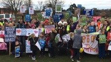 Campaigners gather for Bassetlaw Hospital rally