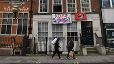 Squatters evcited from 'Rogue Embassy'