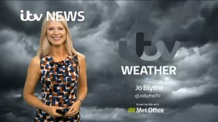 Saturday weather forecast with Jo