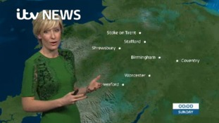 West Midlands Weather: Light rain