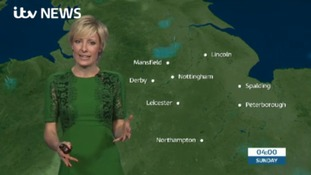 East Midlands Weather: Wet and windy