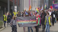 Winchester Pride parade marks annual event
