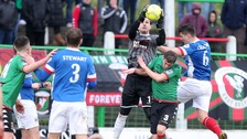 Blues beat Glens in Belfast derby at The Oval