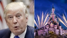 French president invites Trump to Disneyland Paris