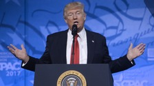 Trump pulls out of White House Correspondents' Dinner