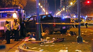 Scene of New Orleans crash