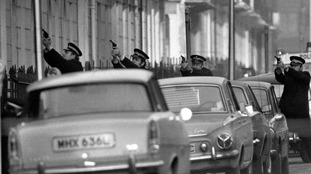 IRA street siege in London in 1975