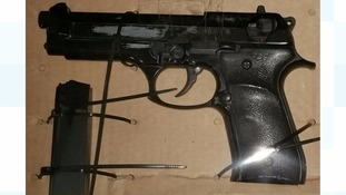 The gun will be tested to see if it is linked to any known crimes