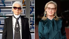 Meryl Streep hits back at Karl Lagerfeld for dress jibe