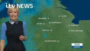 East Midlands Weather: Rain and wind