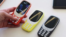 Nokia reveals new-look 3310 mobile phones