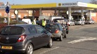 Fuel queues in Maidstone