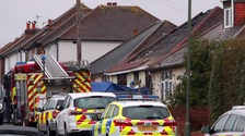 Scene of fire in Guildford