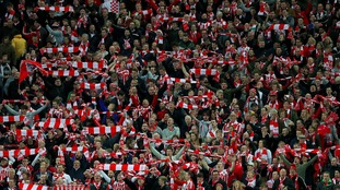 Southampton FC at Wembley in EFL Cup Final