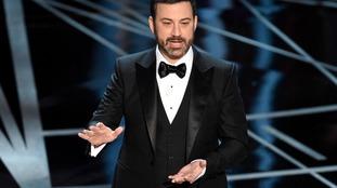 Jimmy Kimmel hosting this year's Oscars.