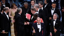 La La Land mistakenly handed best picture Oscar