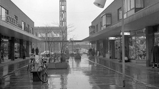 A newly-built church was made to match the 1960s shopping centre in Stevenage