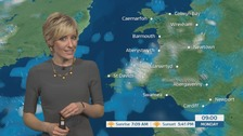 Wales weather: heavy and blustery showers