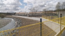 New flood defences in Selkirk officially open