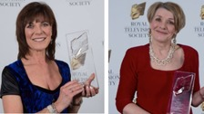 ITV Border presenters honoured at television awards