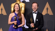 Manchester woman wins Oscar for White Helmets doc