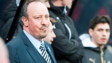 Rafa Benitez has confirmed striker Dwight Gayle will not be available for Newcastle United's game against Brighton