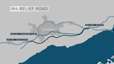 M4 relief road inquiry gets underway