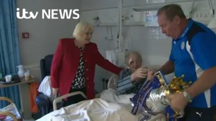 The moment Alan Birchenall almost dropped the Premier League trophy at a hospice