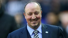 Benitez: Hughton doing a 'great' job