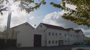 Les Nicolles prison in Guernsey