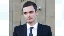 Adam Johnson at a previous court hearing.
