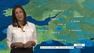 Weather: cold with blustery showers on the way
