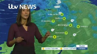 West Midlands Weather: Wintry showers
