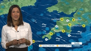 Weather: a cold night with wet and windy conditions ahead