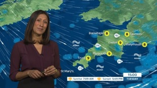 A cold start with showers to come in the South West