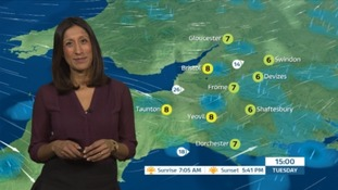 Blustery rain and cold showers ahead for the West