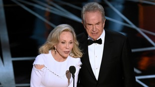 The moment Faye Dunaway and Warren Beatty read out the wrong winner.